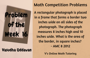 Math Competition Problems - Problem of the Week - 16