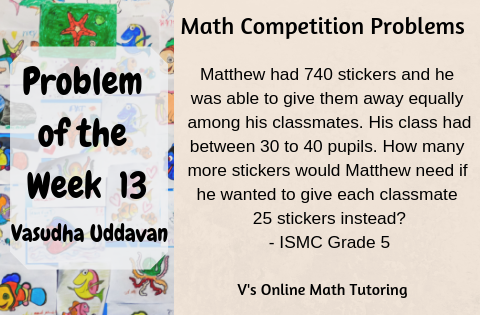 Math Competition Problems - Problem of the Week - 12