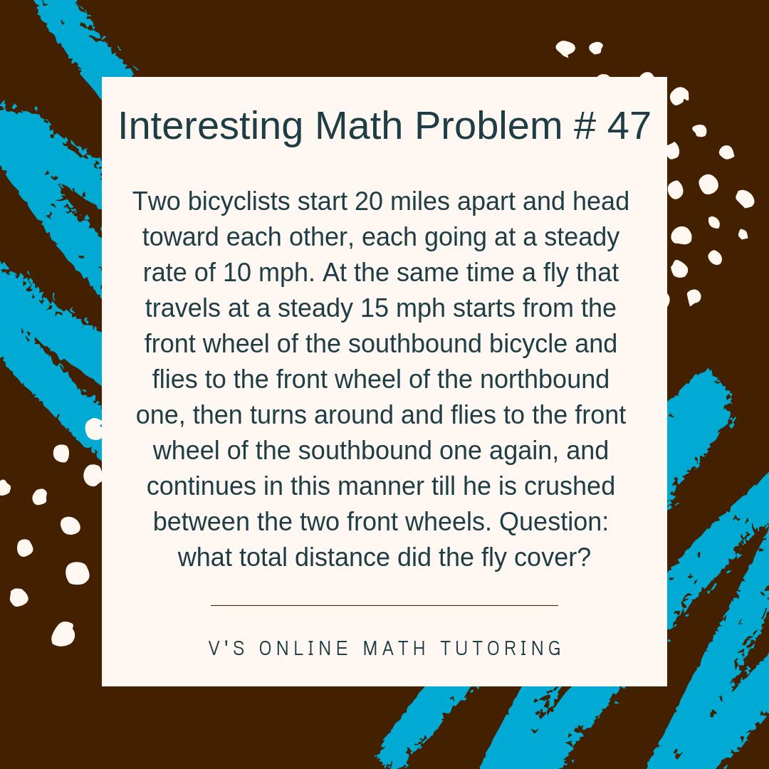Math Enrichment for grades 6-8