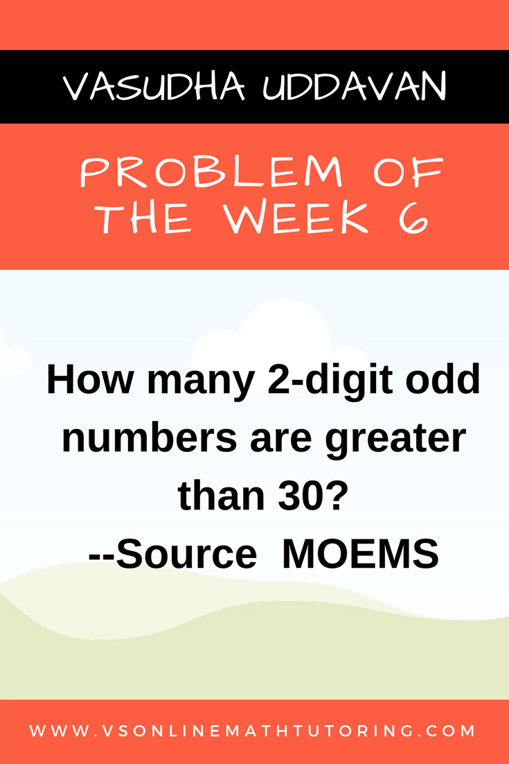 Problem of the Week - 6