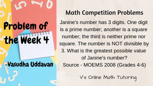Problem of the Week 4
