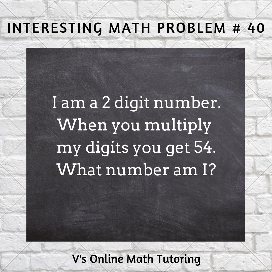 Math Problems for grades 3-5