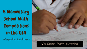 List of Elementary School Math Competitions