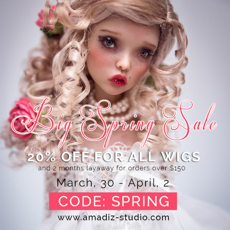 Spring 20% Discounts Event!