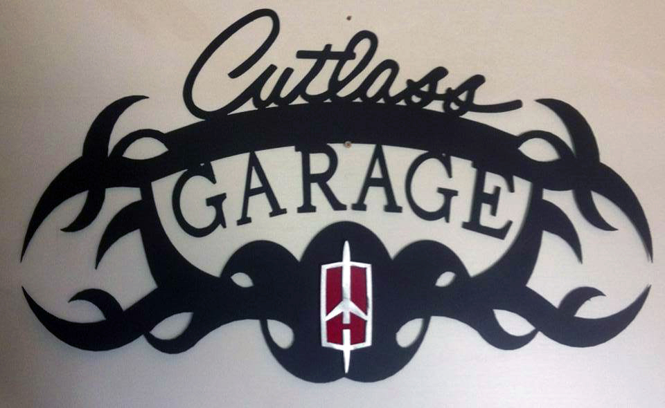 Custom Brand Signage Piece