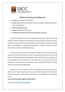 Medicine at UCC - info sheet DEM_pages-t