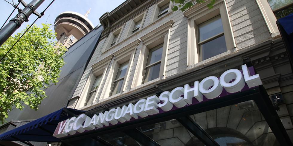 12.00 PM / ¡ Estudia ahora online y continúa con clases presenciales en Vancouver ¡
