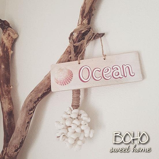 Pancarte en bois de palette ↠ Ocean