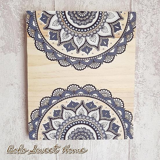 Tableau sur bois  ❀ ΔRΔVΔ