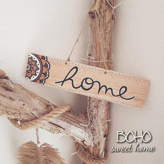 Pancarte en bois de palette ↠ Home