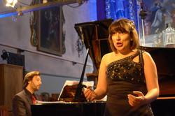 Concert in Val d'Isère (France)