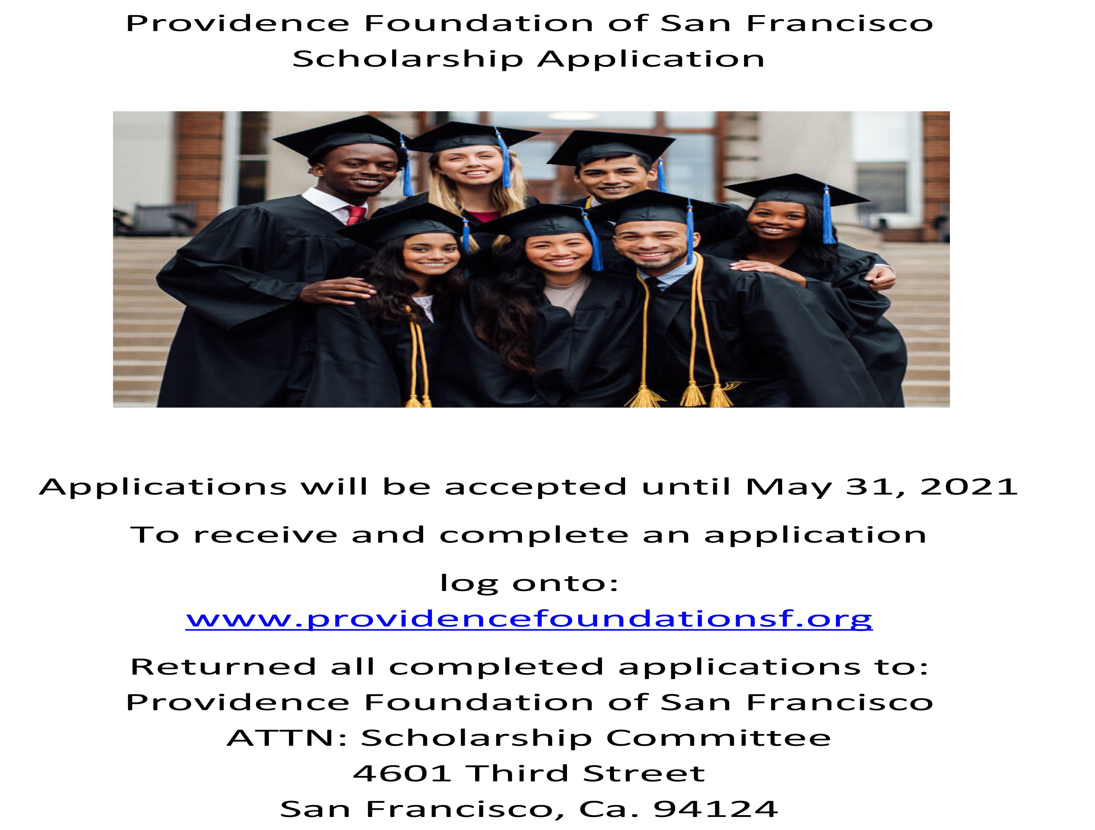 Foundation Scholarship Application Flyer