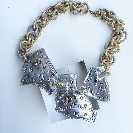 Necklace Steklo BKG