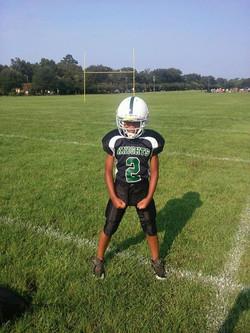 Football star: Junior Robinson