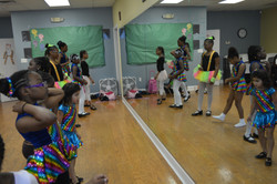 Tap Rehearsal on Costume Day