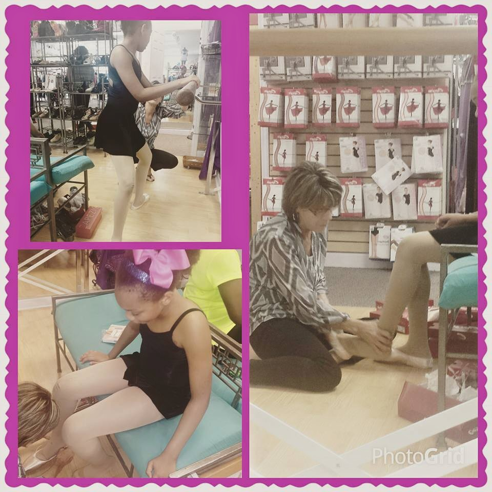 First time getting pointe shoes
