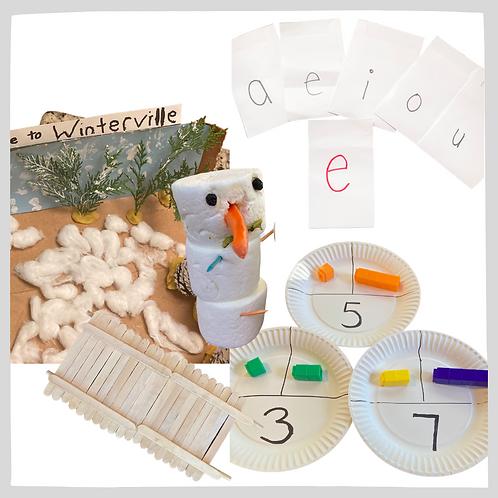 Unit 4 Bundle: Vowels & Consonants, Addition & Subtraction, Hibernate