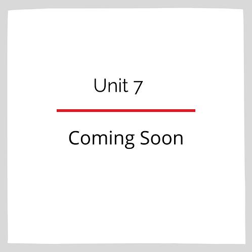 Unit 7: Geometry