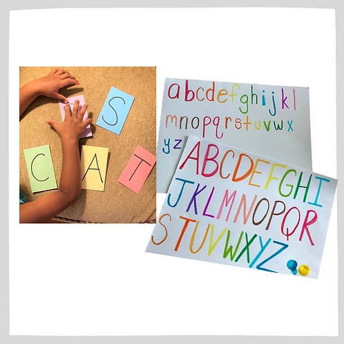 Unit 1: Letters & Sounds