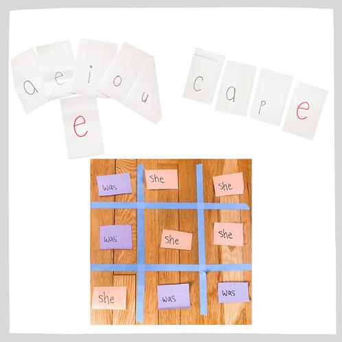 """Unit 4: Vowels, Consonants, & Silent """"e"""""""