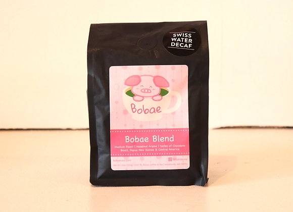 Organic Bobae Decaf Chemical Free Swiss Water Coffee (Whole Bean)