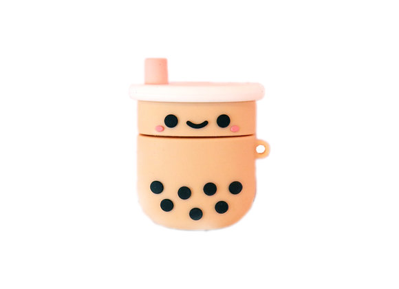 Cute Boba Airpod Case