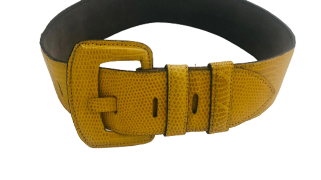Bonwit Teller & Co Lizard Skin Belt