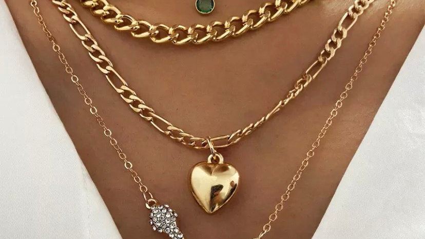 Seeing Green Charm Necklace