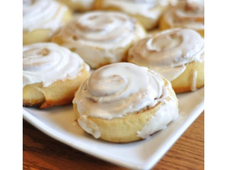 Monday Motivation: Cinnamon Buns all the flavor minus the calories