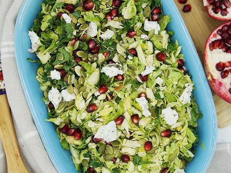 Seasonal Brussel Sprout Salad