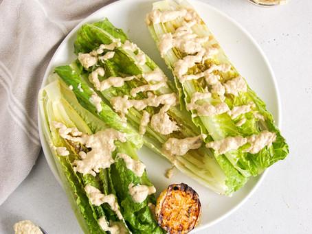 Grilled Romaine Salad