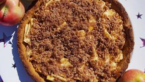 Low Carb Apple Pie (dairy free, grain free)