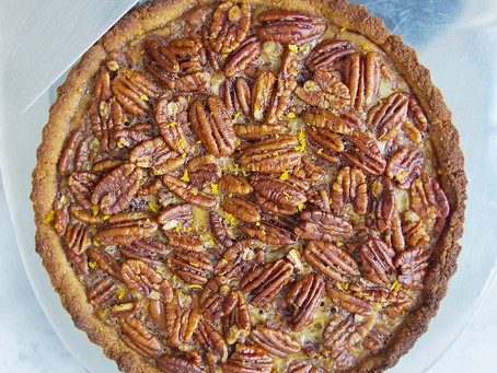 Low Carb Pecan Pie (grain free, dairy free, sugar free)
