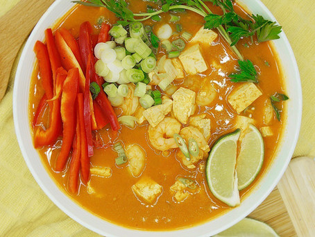 Healthy Coconut Curry Soup