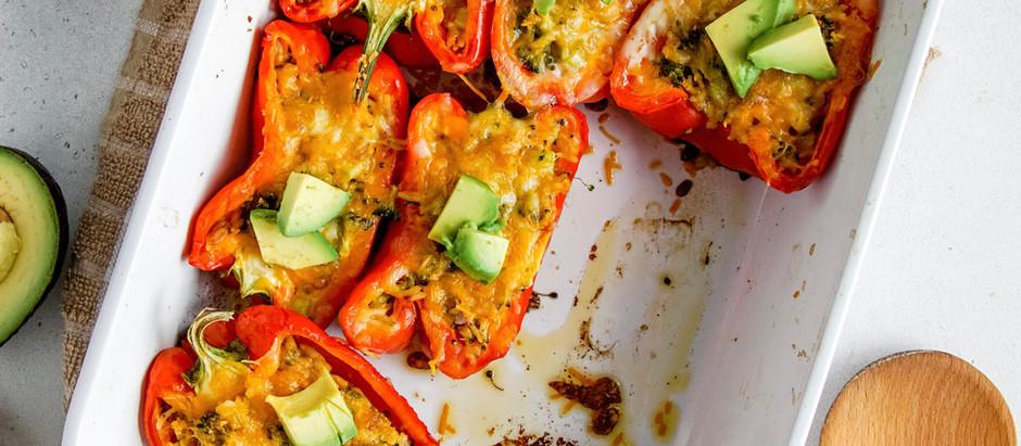 Vegetarian Taco Stuffed Peppers