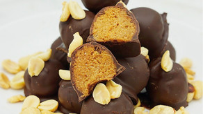 Low Carb Chocolate Peanut Butter Protein Bites