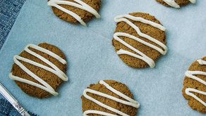 Soft Baked Pumpkin Spice Cookies (low carb, grain free, dairy free)