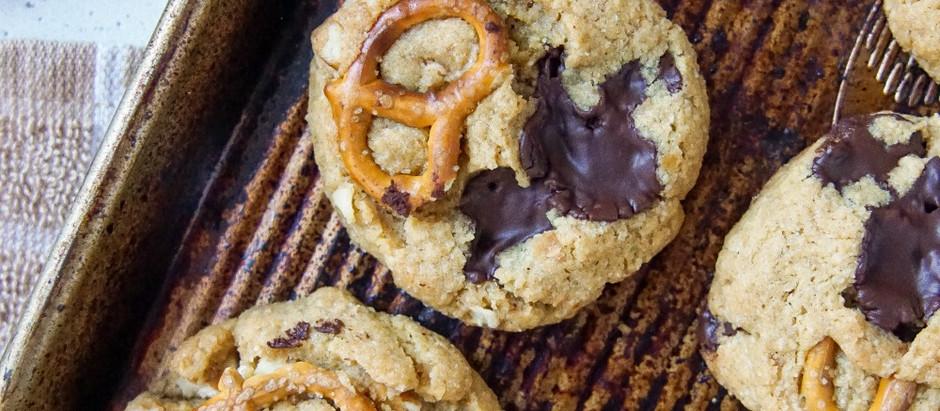Peanutbutter Pretzel Cookies