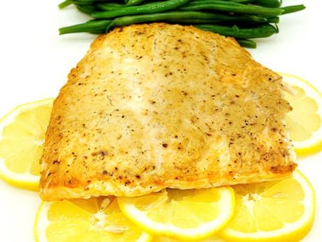 Lemon Dijon Salmon Bake