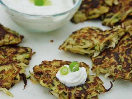 Zucchini Scallion Potato Latke