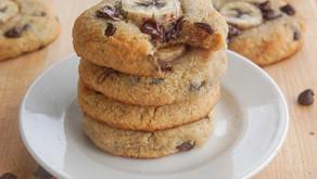 Vegan Banana Bread Cookies (low carb)