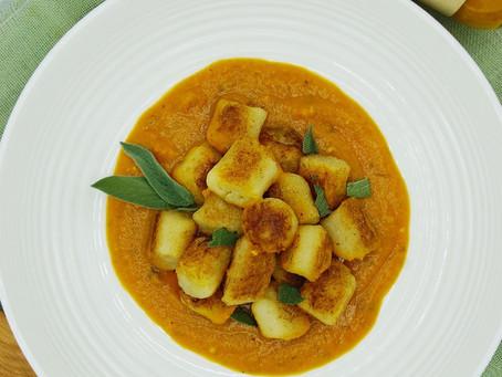 Sage Butter Cauliflower Gnocchi