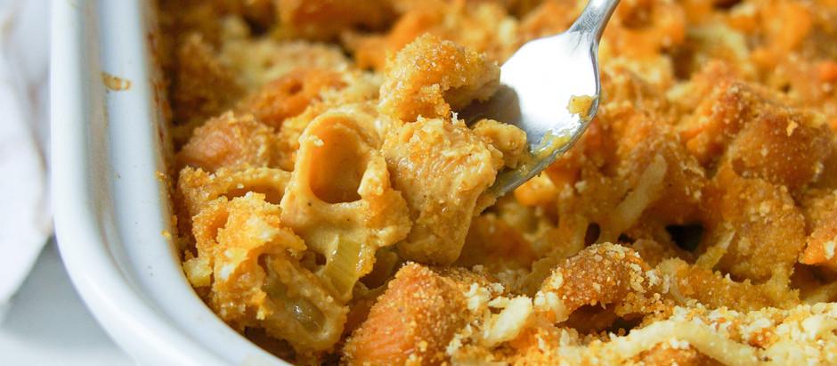 Vegan Baked Mac and Cheese