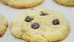 Low Carb Chocolate Chip Tahini Cookies