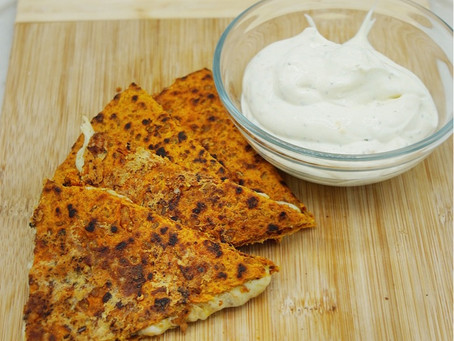 Practical Approach to Navigating Diet Culture (Healthy Quesadilla and Low Fat Ranch Dip Recipe)