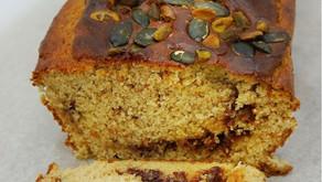 Healthy Cinnamon Swirl Pound Cake