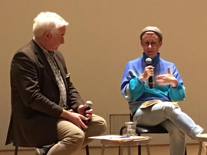 Franz Anton Cramer and Pol Pi in conversation
