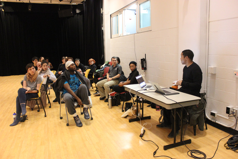 Master Class with Trajal Harrell