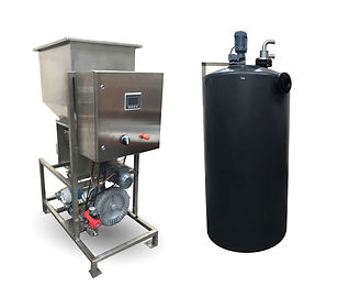 dry powder makedown system