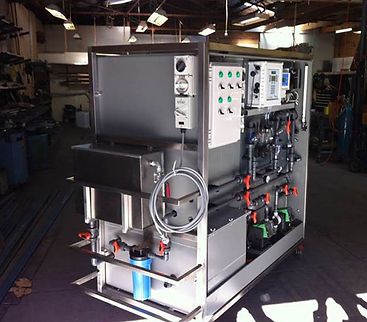 chlorine dioxide generator rig electrocell version